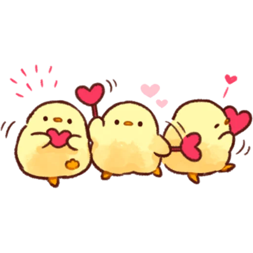 soft and cute chick 02 - Sticker 27