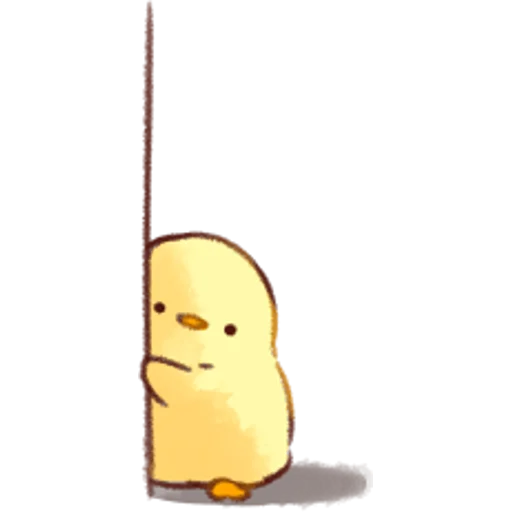 soft and cute chick 02 - Sticker 5
