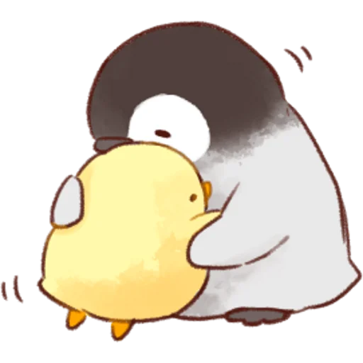 soft and cute chick 02 - Sticker 1