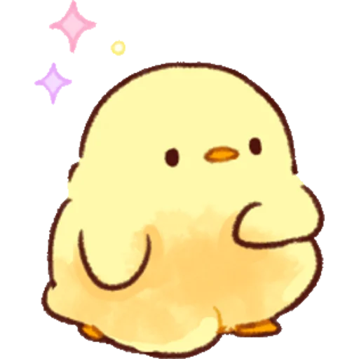 soft and cute chick 02 - Sticker 15