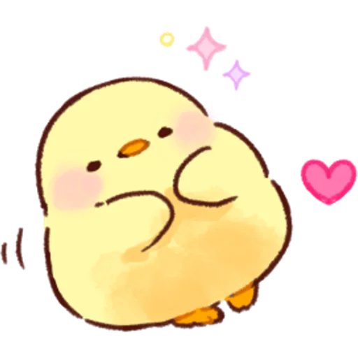 soft and cute chick 02 - Sticker 12