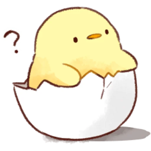 soft and cute chick 02 - Sticker 8