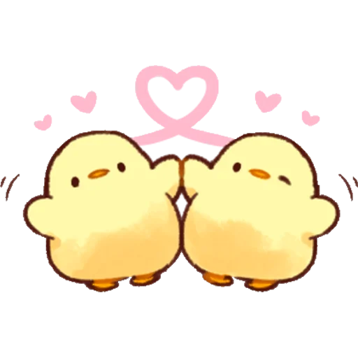 soft and cute chick 02 - Sticker 17