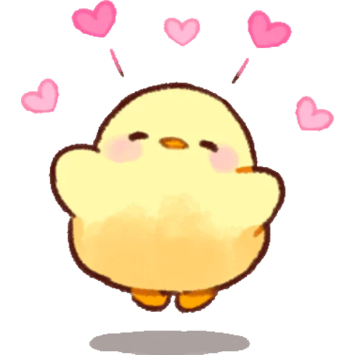 soft and cute chick 02 - Sticker 18