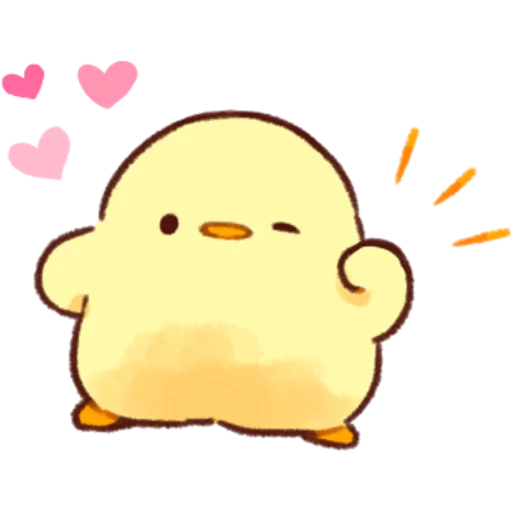 soft and cute chick 02 - Sticker 14