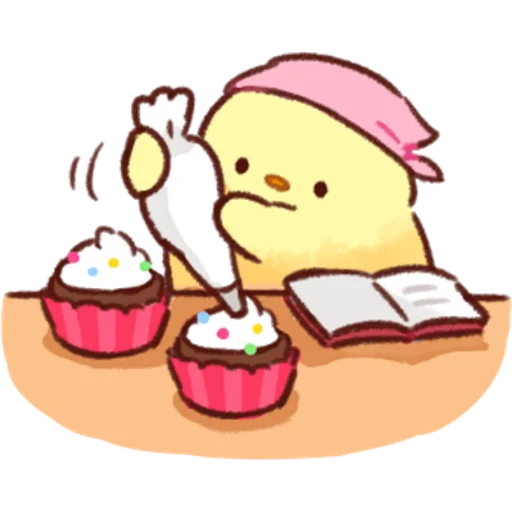 soft and cute chick 02 - Sticker 25