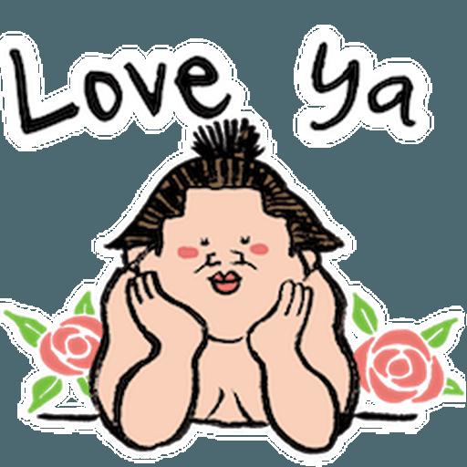 神奇相撲 - Sticker 5