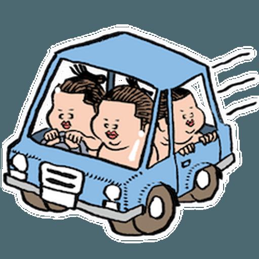 神奇相撲 - Sticker 6
