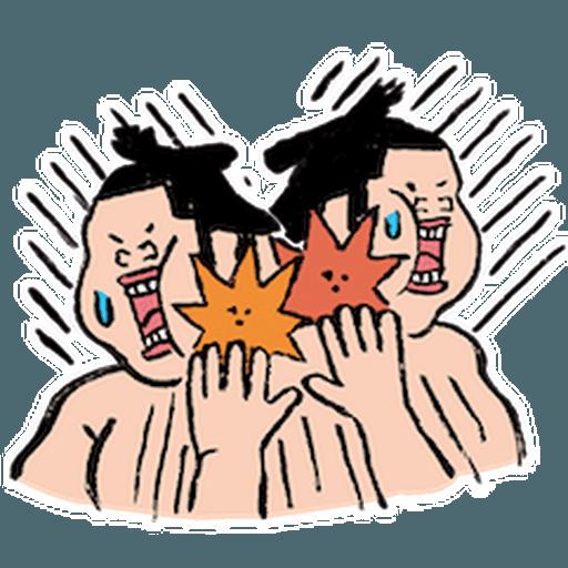 神奇相撲 - Sticker 19