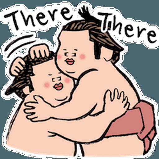 神奇相撲 - Sticker 8
