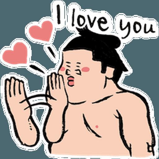 神奇相撲 - Sticker 17