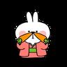 Spoiled rabbit 2019新年版 1 - Tray Sticker