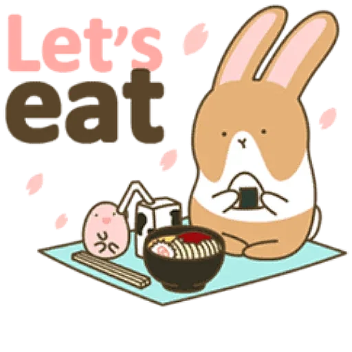 Coffee Rabbit - Sticker 15