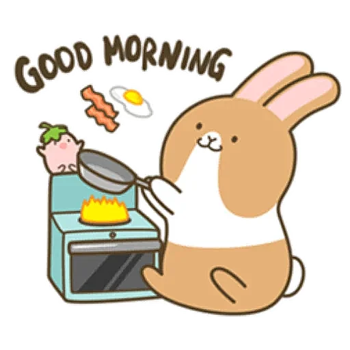 Coffee Rabbit - Sticker 2