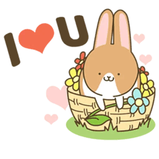 Coffee Rabbit - Sticker 17