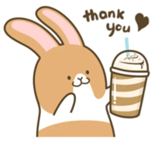 Coffee Rabbit - Sticker 3