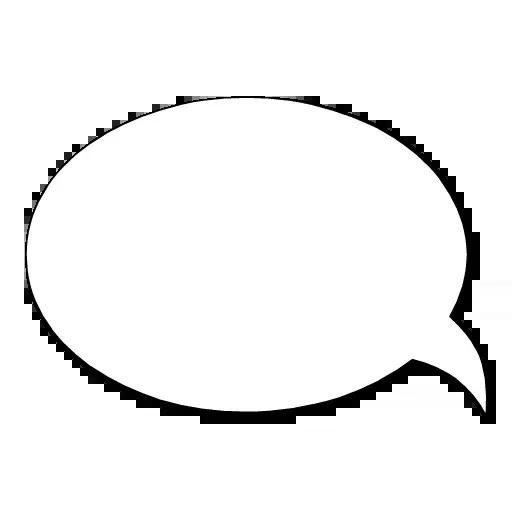 Dialog Clouds - Sticker 7