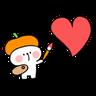 Spoiled Rabbit Heart 2 - Tray Sticker