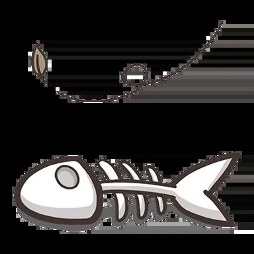 白爛貓那條魚1 - Sticker 2
