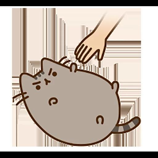 fat cat - Sticker 8