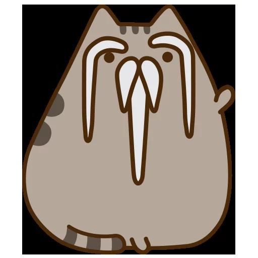 fat cat - Sticker 14