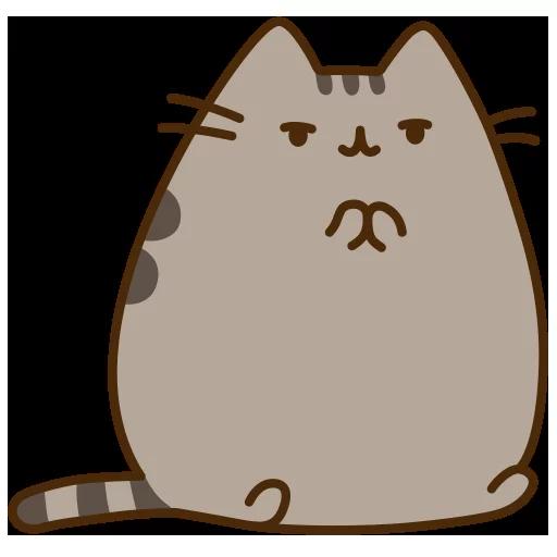 fat cat - Sticker 12