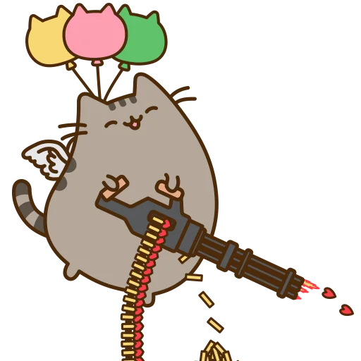 fat cat - Sticker 28