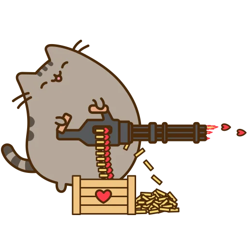 fat cat - Sticker 29