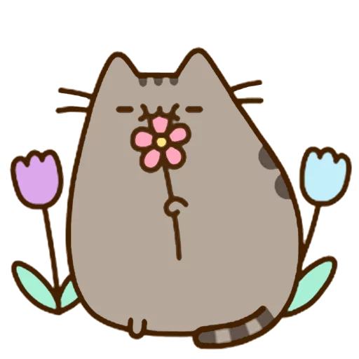 fat cat - Sticker 23