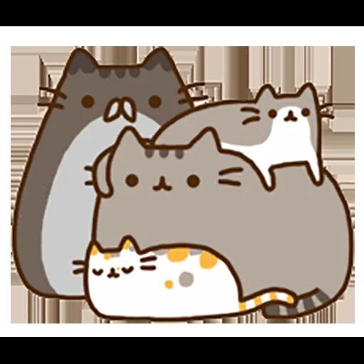 fat cat - Sticker 10