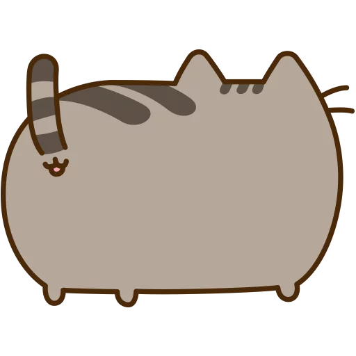 fat cat - Sticker 17