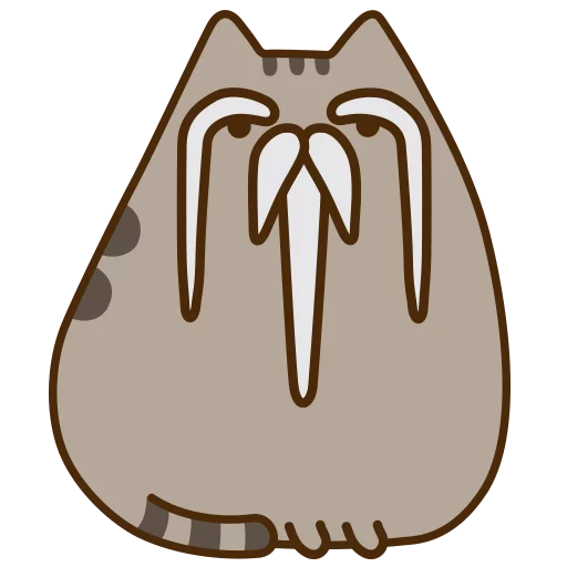 fat cat - Sticker 15