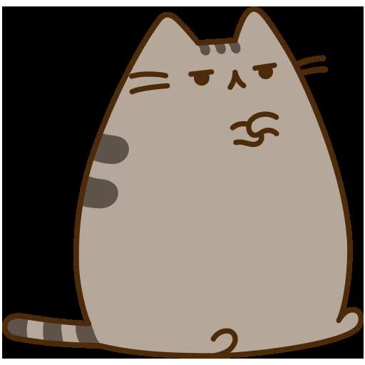 fat cat - Sticker 19