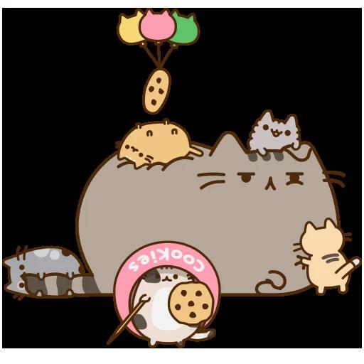 fat cat - Sticker 21