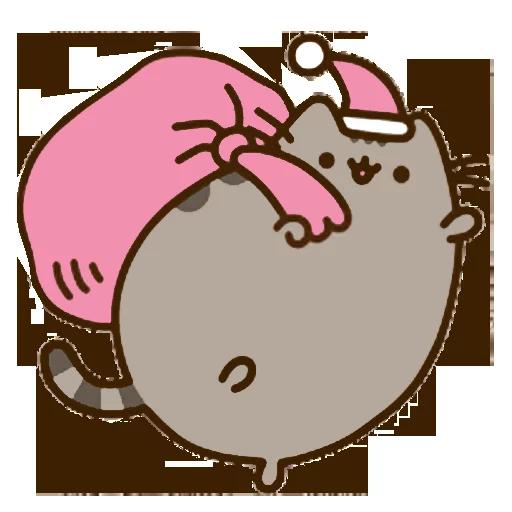 fat cat - Sticker 25