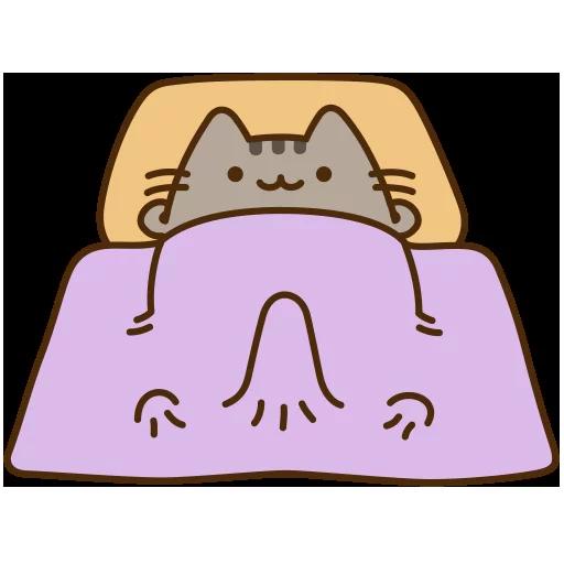fat cat - Sticker 20