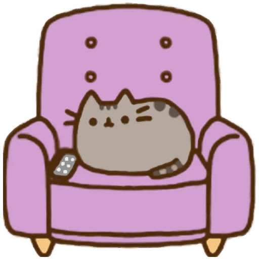 fat cat - Sticker 22