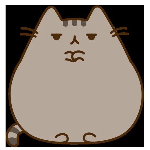 fat cat - Sticker 18