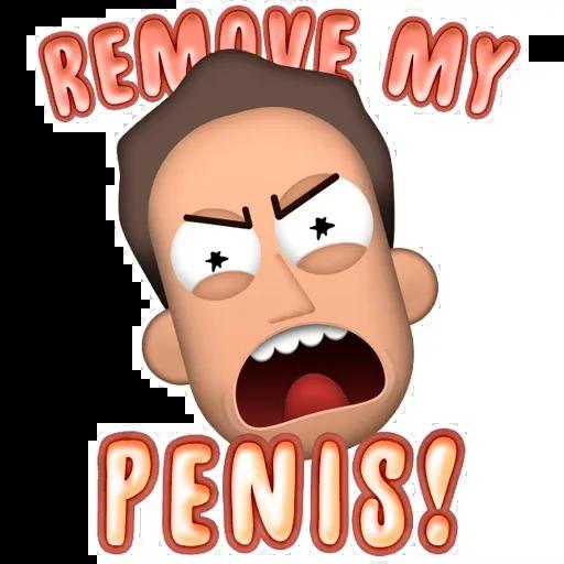 Rick & Monty pt2 - Sticker 2