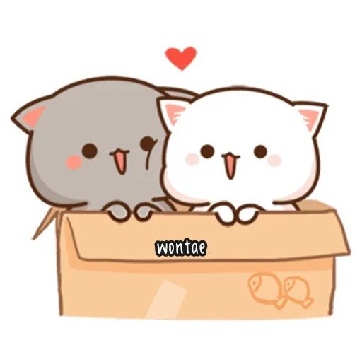 Mochi Cat 3 - Sticker 1