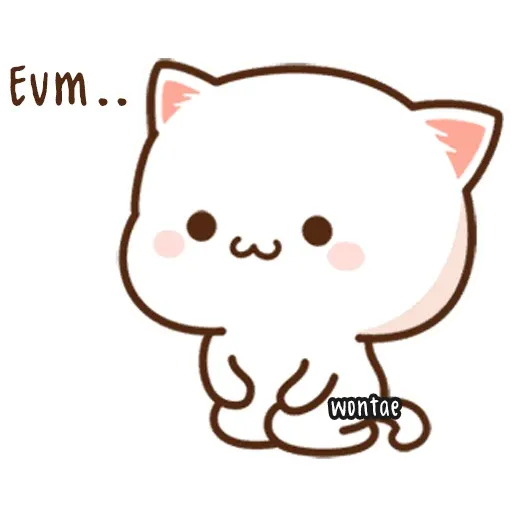 Mochi Cat 3 - Sticker 4