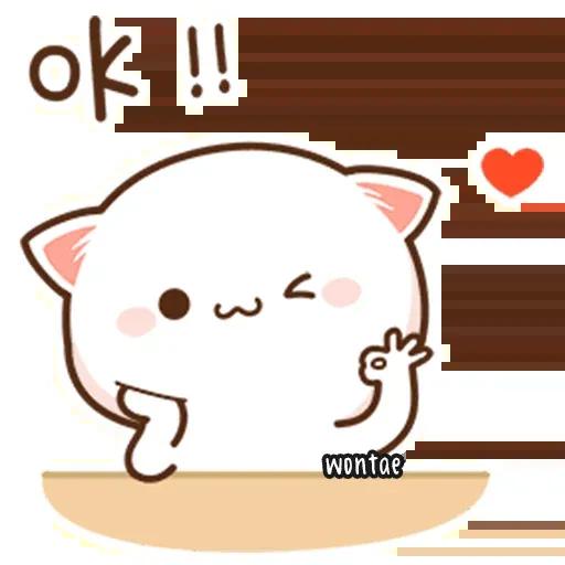 Mochi Cat 3 - Sticker 6