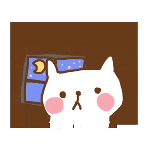 小猫咪 - Meonggi - Sticker 6