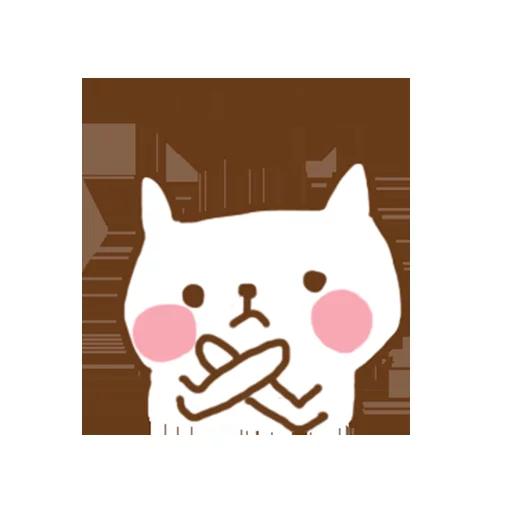 小猫咪 - Meonggi - Sticker 8