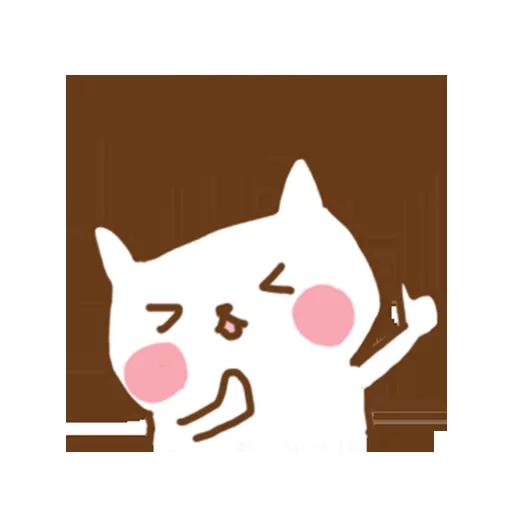 小猫咪 - Meonggi - Sticker 11