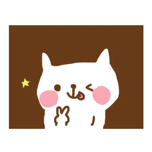 小猫咪 - Meonggi - Sticker 13