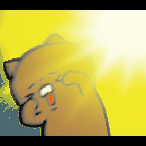 戲很多貓 - Sticker 19
