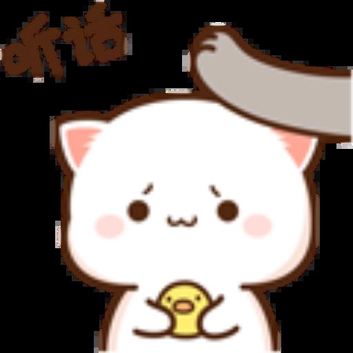 蜜桃猫14 - Sticker 13