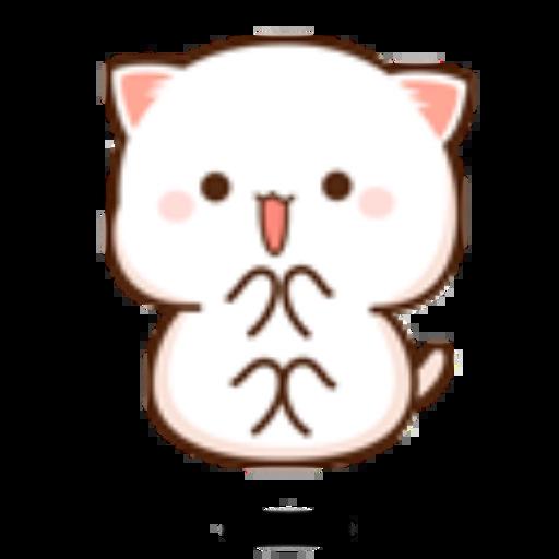 蜜桃猫14 - Sticker 11