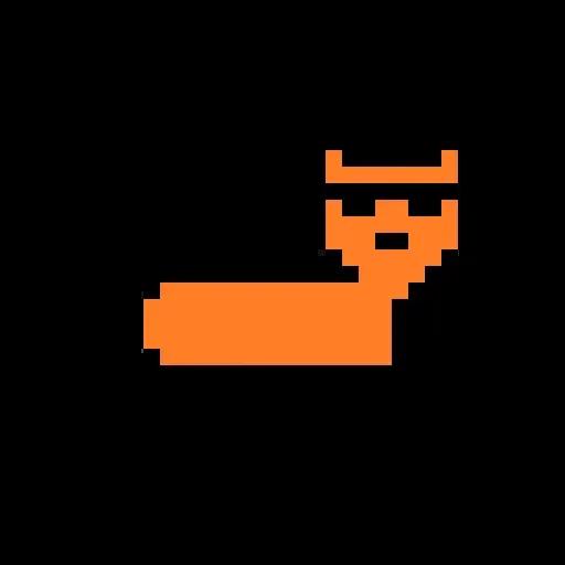 Color Pixel Cat - Sticker 2